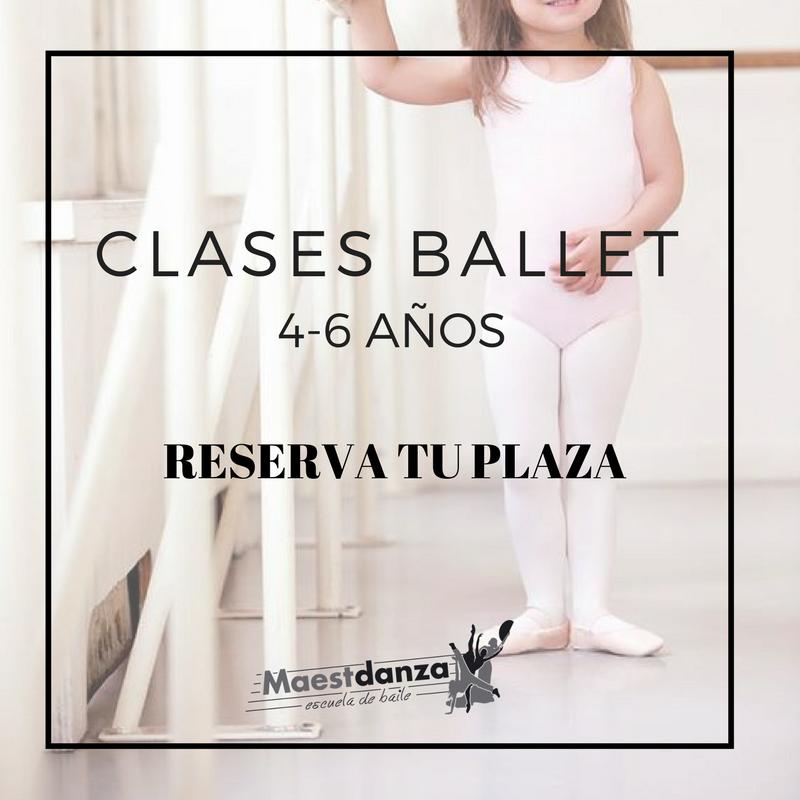 Clases Ballet de 4 a 6 años